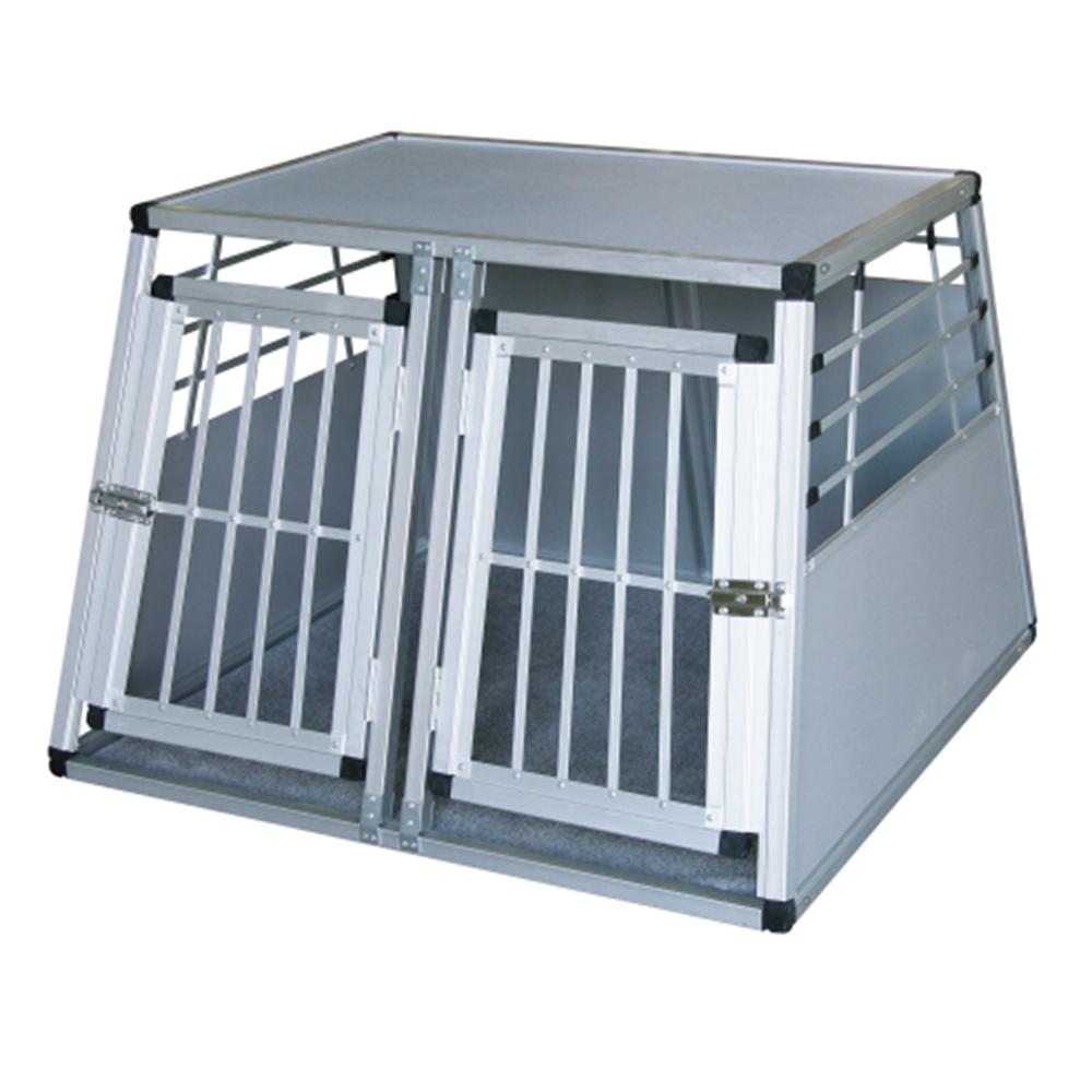 ducatillon box de transport pour chiens 2 portes chiens. Black Bedroom Furniture Sets. Home Design Ideas
