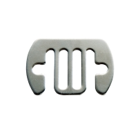 5 Raccords acier inoxydable pour ruban 40mm