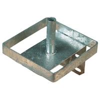 Support pour bloc à lécher en métal