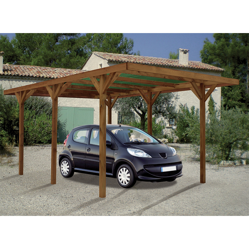 carport en bois suisse. Black Bedroom Furniture Sets. Home Design Ideas