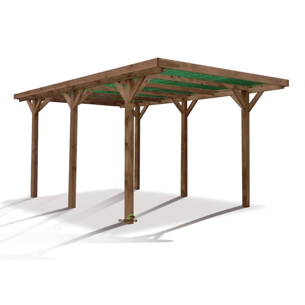 carport en bois de pologne. Black Bedroom Furniture Sets. Home Design Ideas