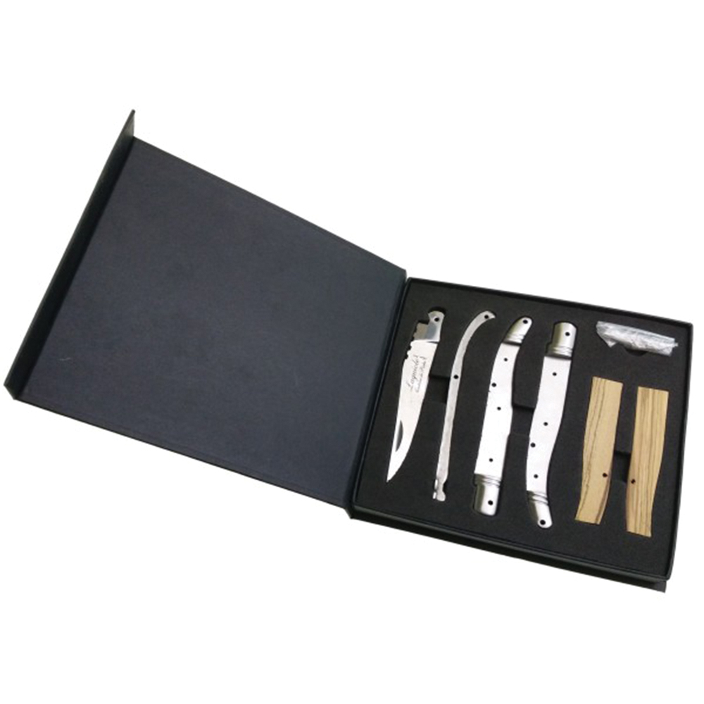 ducatillon coffret couteau monter soi m me chasse. Black Bedroom Furniture Sets. Home Design Ideas
