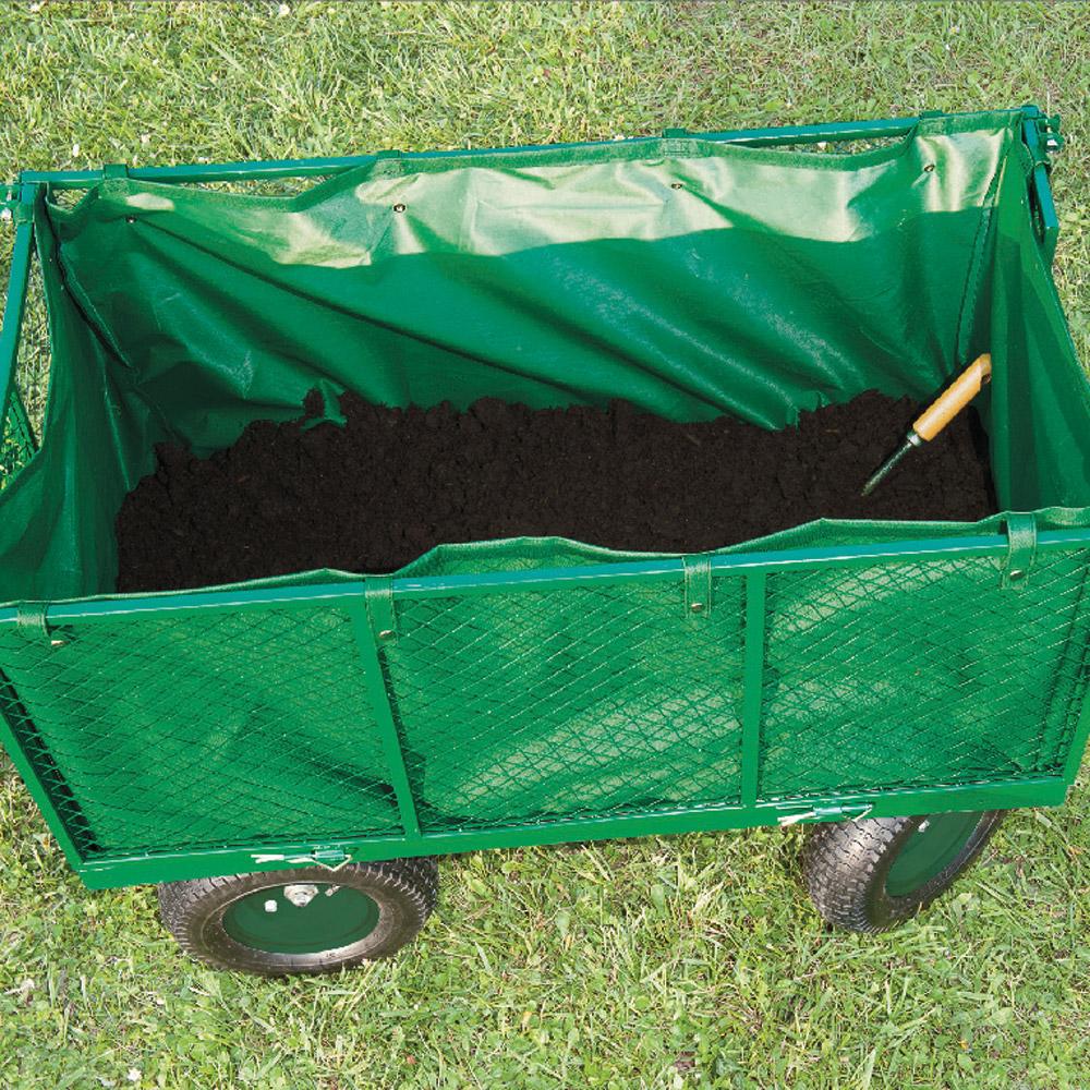 Ducatillon chariot de jardin xxl b che jardin for Baches de jardin