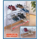 Lot de 3 �tag�res � Chaussures Extensible