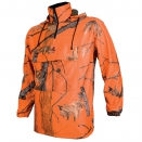 Sweat polaire camo orange FIRE