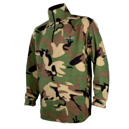 Sweat polaire T296 camo 3XL