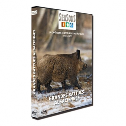 DVD Les grandes battues alsaciennes