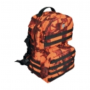 Sac à dos 40L ghost camo orange CE B&B