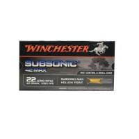 Balles 22lr Subsonic Winchester® 42 grains