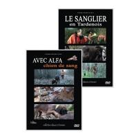 DVD: Coffret Le Sanglier et Alfa chien de sang