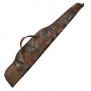 Fourreau fusil ou carabine feuillage et toile marron