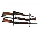 Porte-fusils 3 armes avec câble acier