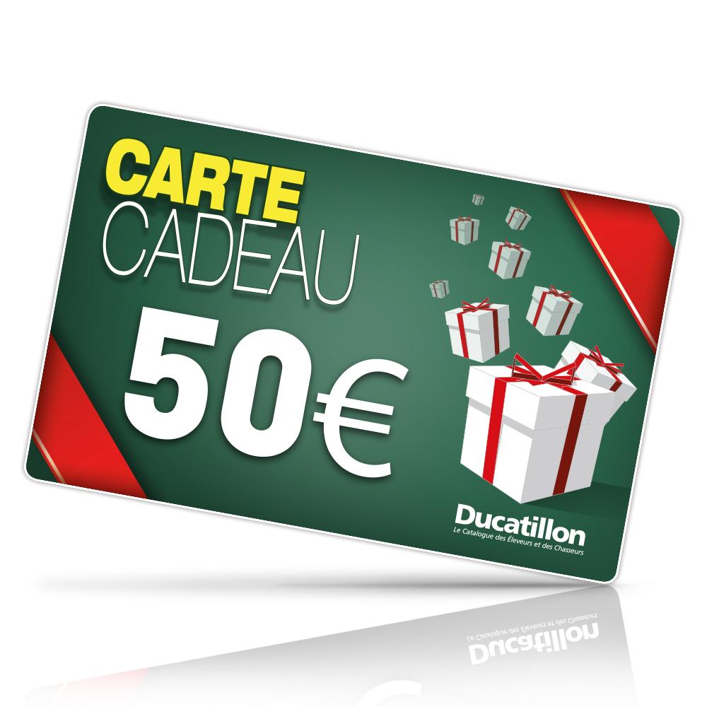 boutiques ducatillon carte cadeau ducatillon 50 euros boutique de vente en ligne. Black Bedroom Furniture Sets. Home Design Ideas