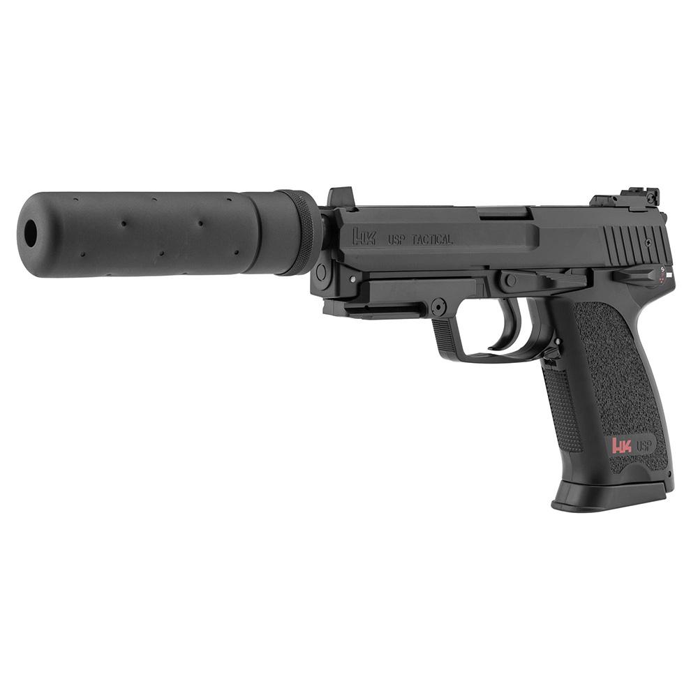 ducatillon pistolet lectrique hk usp tactical silencieux tir de loisir. Black Bedroom Furniture Sets. Home Design Ideas