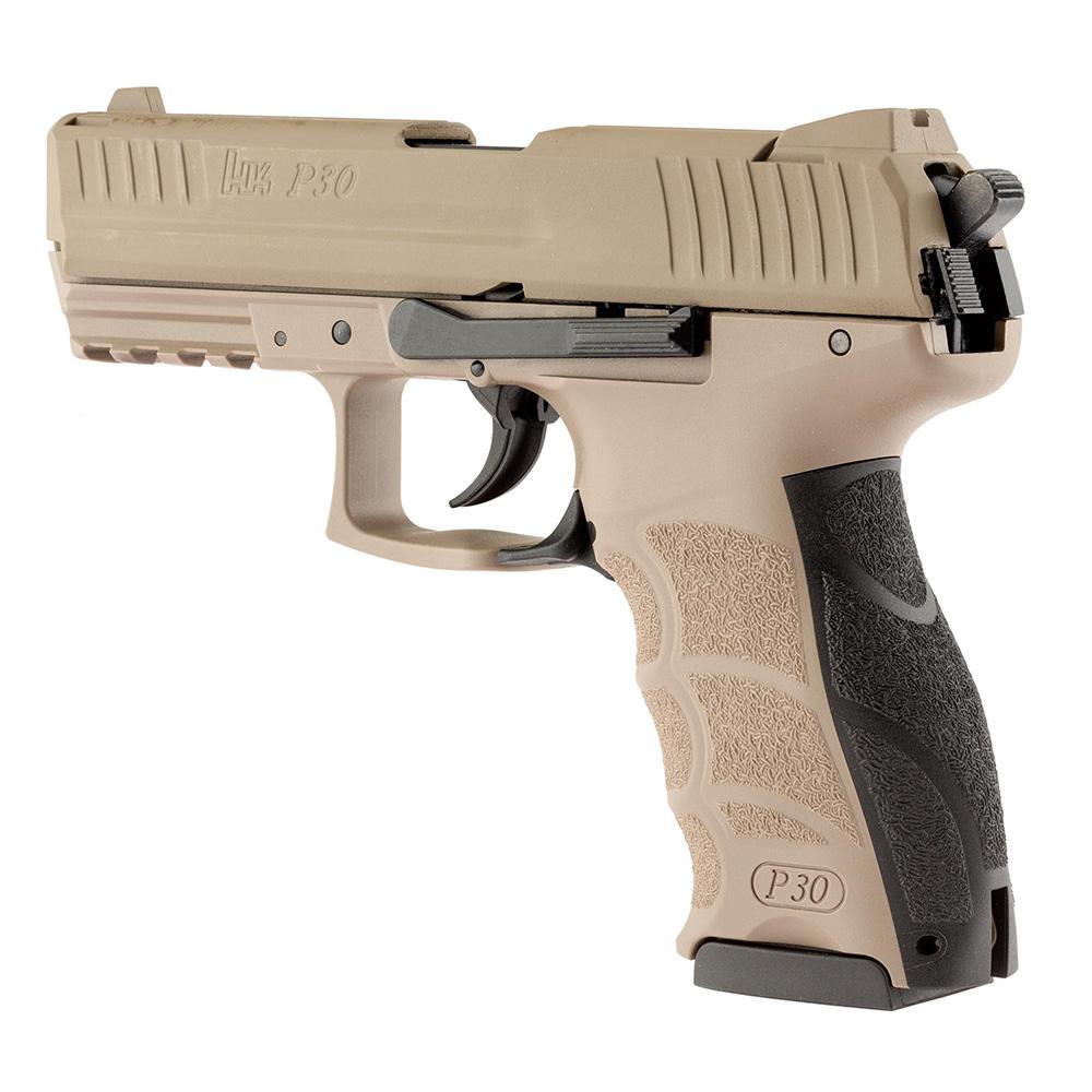 ducatillon pistolet d 39 alarme et de d fense umarex h k p30 fde s curit auto d fense. Black Bedroom Furniture Sets. Home Design Ideas