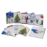 Les 25 cartes de voeux + 25 enveloppes