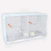 Lot de 3 cages d'élevage