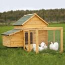 Poulailler confort+enclos