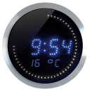 Horloge � LEDs Thermom�tre & Calendrier