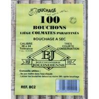 100 Bouchons Colmatés 38 x 24