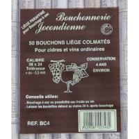 50 Bouchons Colmatés 38 x 24
