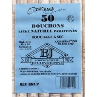 50 Bouchons Naturels 45 x 24