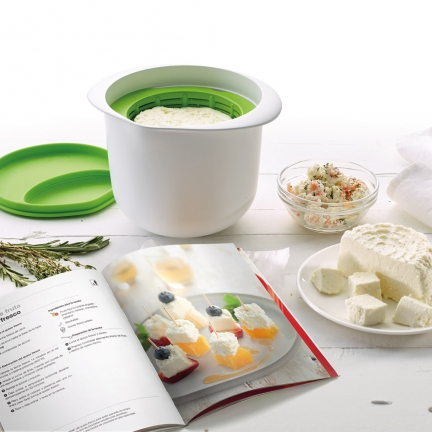 Ducatillon kit cheese maker livre cuisine for Ducatillon cuisine