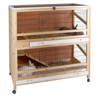 Cage pour petit animal Indoor Deluxe