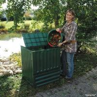 Composteur Eco-King vert 600L