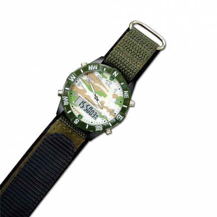 Montre camouflage multifonctions