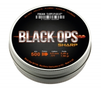 2500 Plombs Black Ops Sharp® 4,5mm