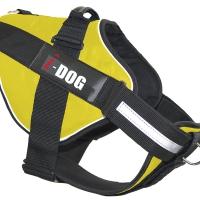 Harnais neocity I-DOG jaune/gris