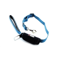 Laisse confort I-DOG + boucle pour ceinture de sécurité