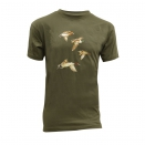 Tee-Shirt Kaki Bartavel® Vol de Canards