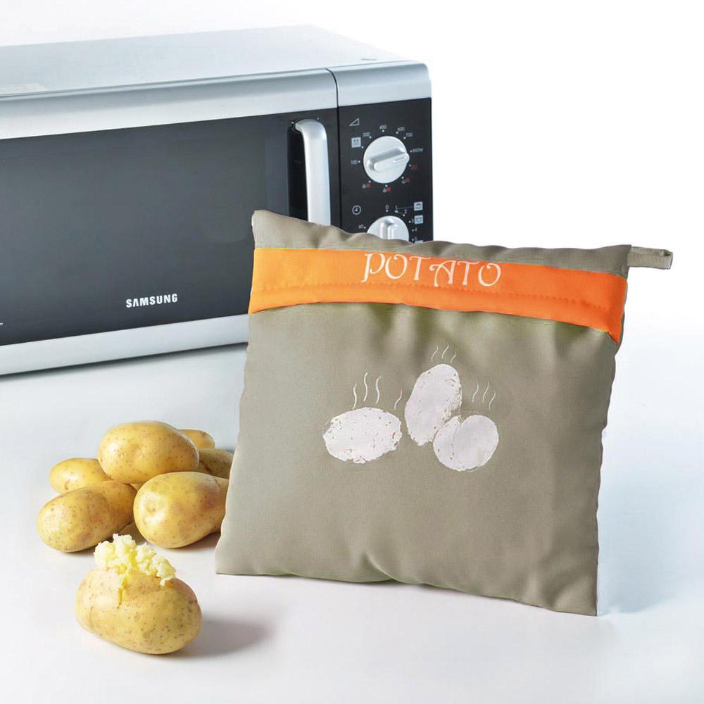 Ducatillon sac de cuisson pommes de terre micro ondes cuisine - Pomme de terre vapeur micro onde sac plastique ...