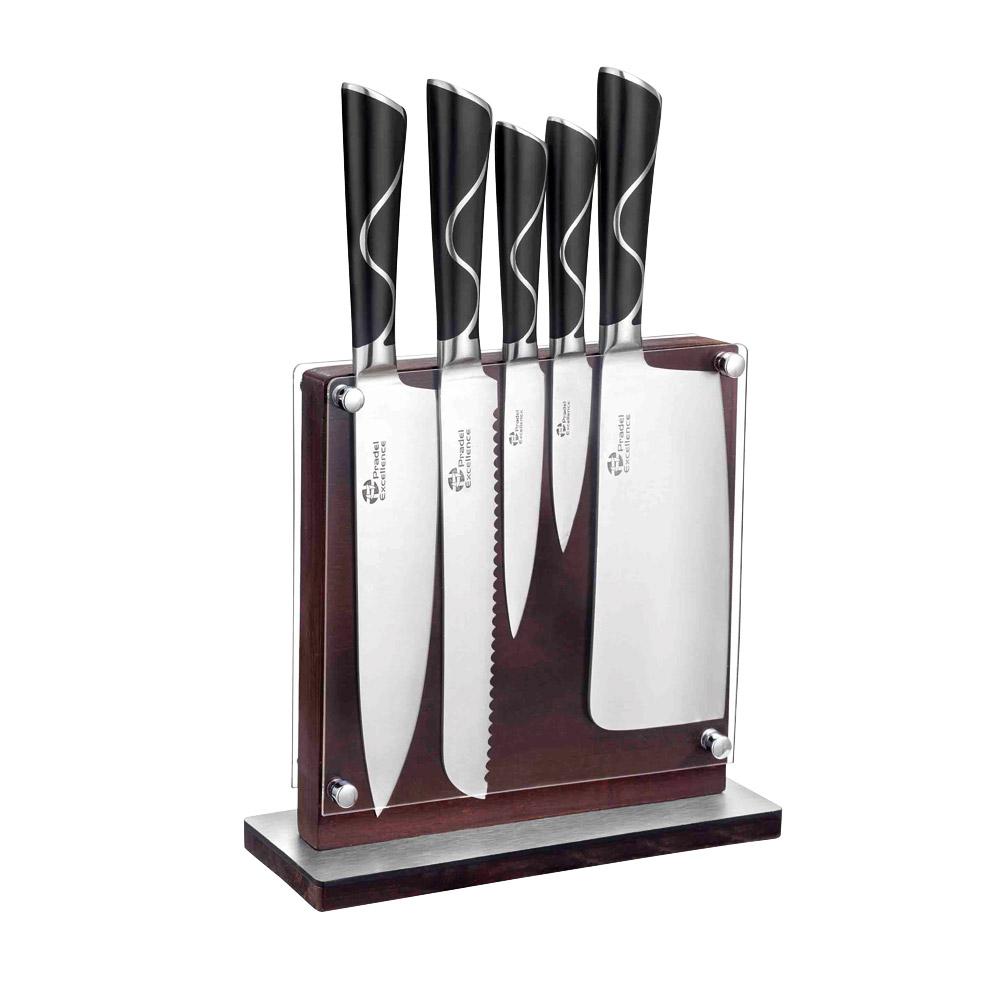 bloc bois 5 couteaux forges achat vente d 39 ustensiles de cuisine. Black Bedroom Furniture Sets. Home Design Ideas