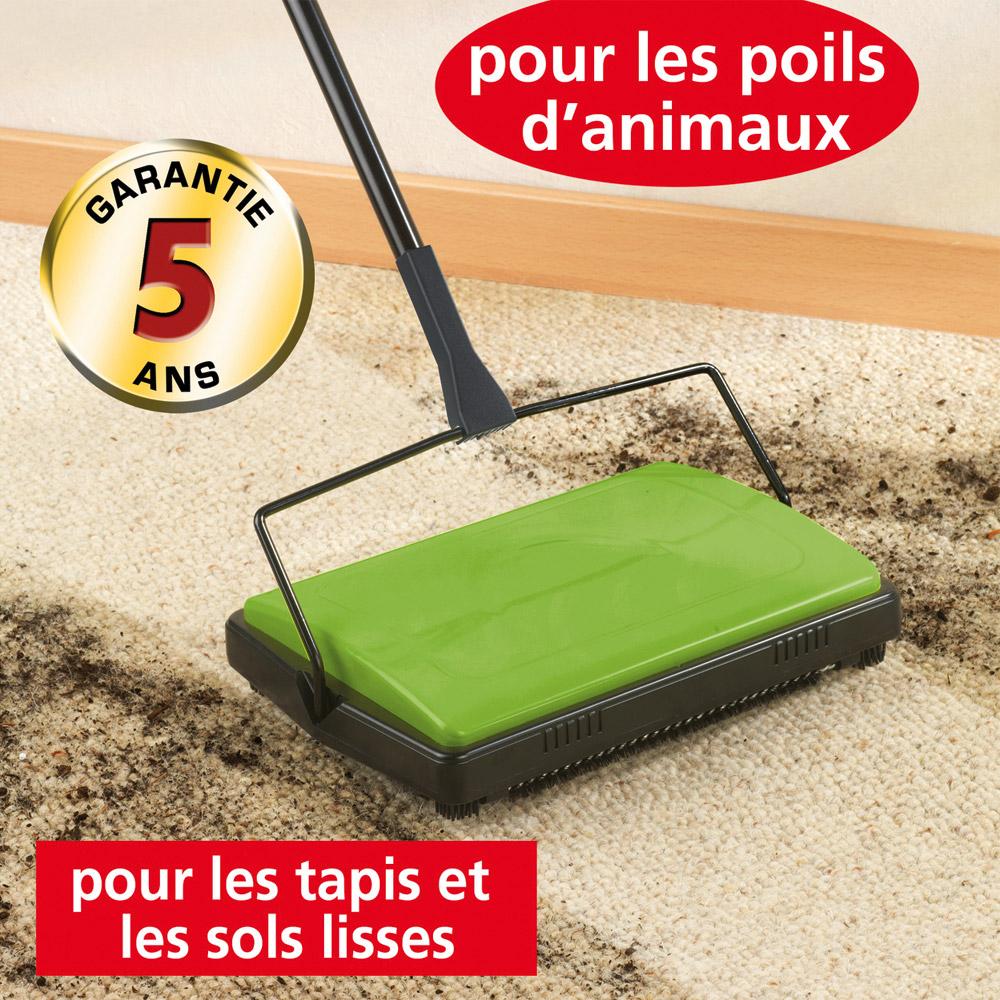 Ducatillon balai m canique pour tapis et sols lisses - Meilleur aspirateur balai pour poils d animaux ...