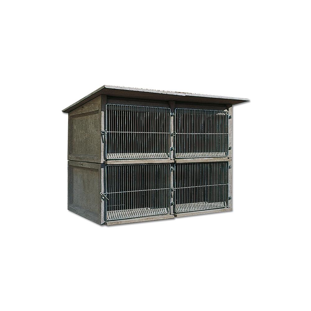 ducatillon clapier b ton 4 ou 6 cases elevage. Black Bedroom Furniture Sets. Home Design Ideas
