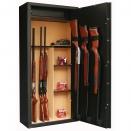 INFAC: 14 armes avec lunette + coffre intérieur + étagère