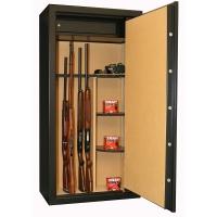 INFAC: 23 armes avec lunette + coffre intérieur + étagères