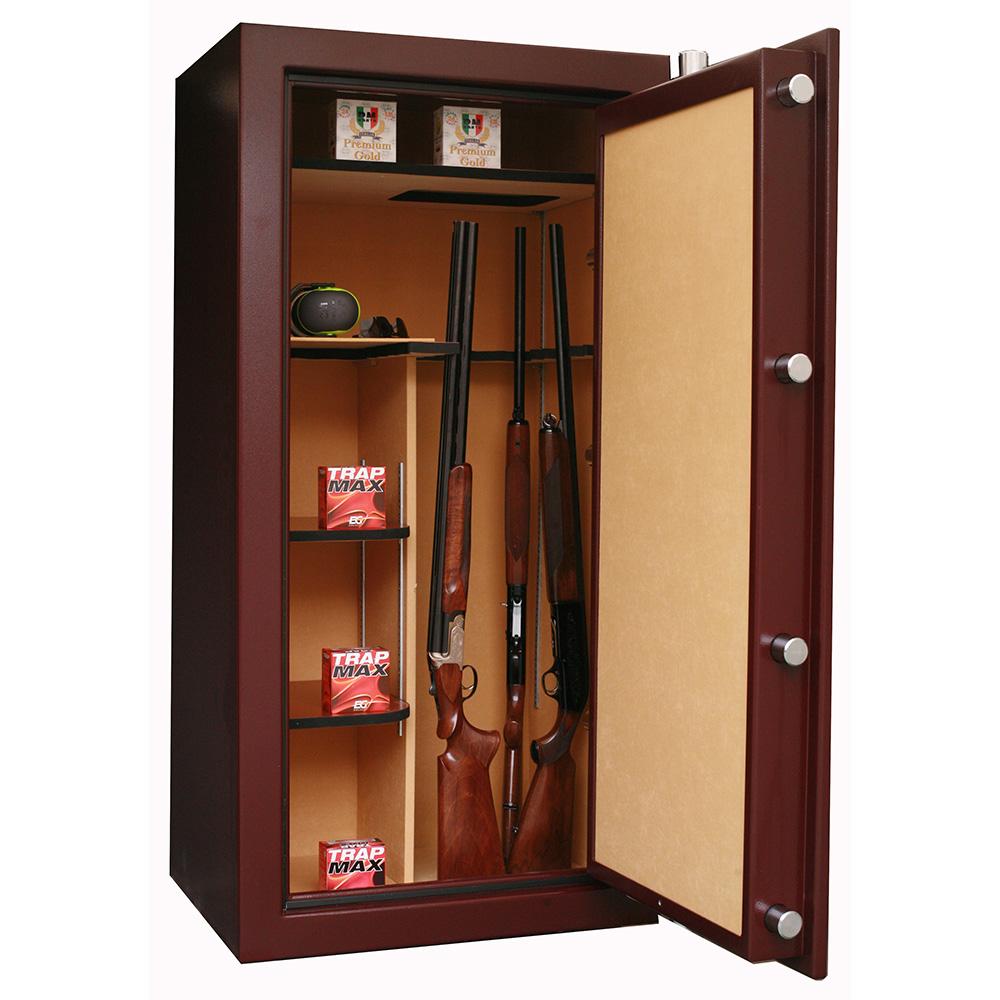 chasse ducatillon 24 armes avec lunette serrure lectronique nl tag res couleur au. Black Bedroom Furniture Sets. Home Design Ideas