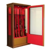 INFAC: Vitrée 14 armes avec lunette + coffre intérieur (EBT)