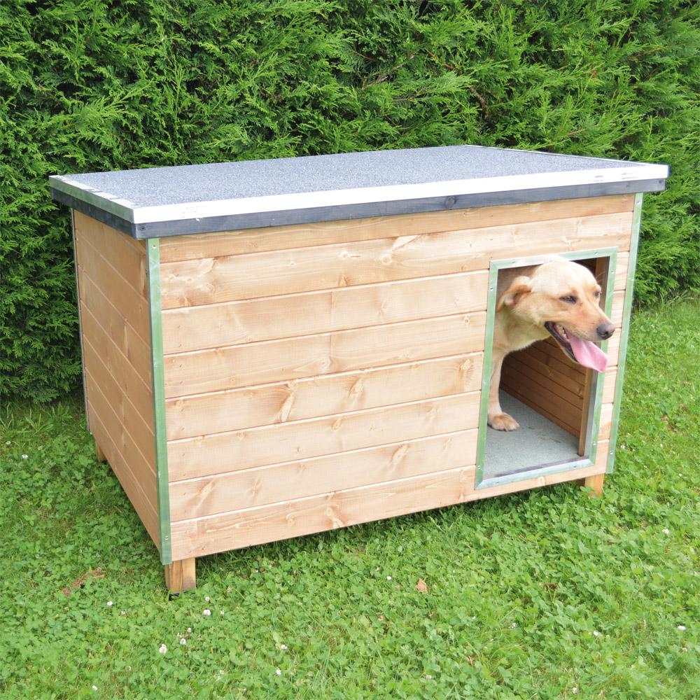 Ducatillon niche en bois pour chien chiens for Niche interieure pour chien