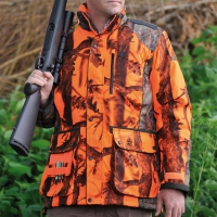 Veste de chasse Percussion Brocard Ghostcamo blaze&black/Forest