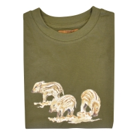 Tee-shirt Enfant kaki Bartavel® Marcassins
