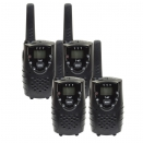 Set de 4 Talkie-Walkie + 4 �couteurs