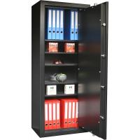 INFAC: 5 étagères renforcées amovibles + serrure électronique (150x60x40cm)