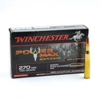 Boîte de 20 balles Winchester® Power Max Bonded 270 Win 130 grains