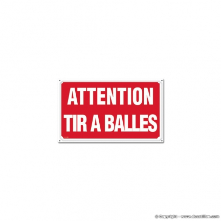 ATTENTION TIR A BALLES, Akilux