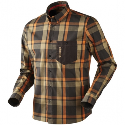 Chemise Amlet shadow brown M